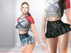 LeCastle - Daina Skirt / Maitreya / Belleza / Slink / Tonic / HUD