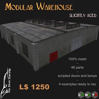 Modular Warehouse - Slightly Aged
