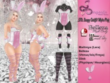 .:SFD:. Bunny Outiffit White/Pink  - WEAR