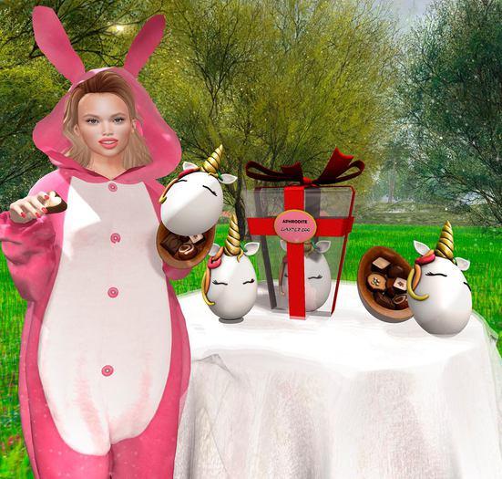 <Aphrodite>  Unicorn Easter Egg