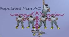 Populated Man AO