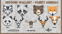 MyBOXiD - Bear v1.0 Wooden Wallart - Forest animals