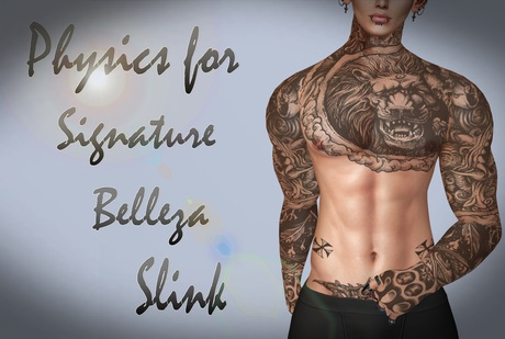 Second Life Marketplace Male Physics For Signature Belleza