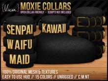 {Vixen} - MOXIE collars - { Kawaii Maid Senpai Waifu }