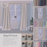 {what next} Draped Curtains