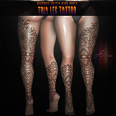 .:AuricA:. Tria Leg Tattoo {WEAR ME}