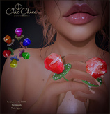 :::ChicChica::: Pop Rings