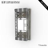Lattice Wall Lamp - Silver (Original Mesh, Resizer)