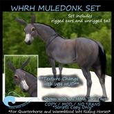 WH Riding Horse LH Mule-Donk Set
