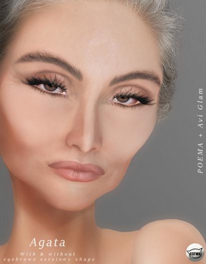 POEMA & AG. Agata Skin - Tone 3 (wear to unpack)