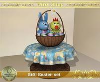 Gift! Easter set, 100%mesh (full perm).