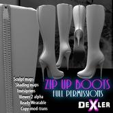 Zip up Boots Full Perm by DeXler ----------------
