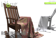 inVerse® MESH - Rocking chair with blanket full permission