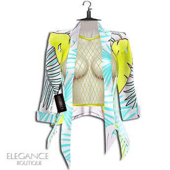 "Elegance Boutique -Jacket - YellowHawai - ""Nicki"" - Legacy / Maitreya /Slink / Belleza"