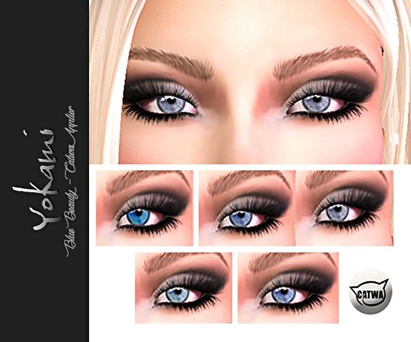 Yokami~Blue Beauty Eyes [Catwa Applier]