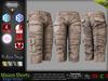 MASON BEIGE Male Cargo Shorts MESH - ADAM, AESTHETIC, SIGNATURE GIANNI - GERALT, SLINK, TMP, JAKE - FashionNatic