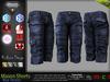 MASON BLUE Male Cargo Shorts MESH - ADAM, AESTHETIC, SIGNATURE GIANNI - GERALT, SLINK, TMP, JAKE - FashionNatic