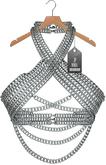 "JF Design""Anastasia""[Maitreya/Belleza] Chain Top - Silver"
