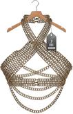 "JF Design""Anastasia""[Maitreya/Belleza] Chain Top - Mink"