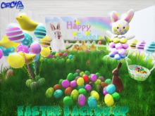 {RC} Happy Easter Backdrop Pack
