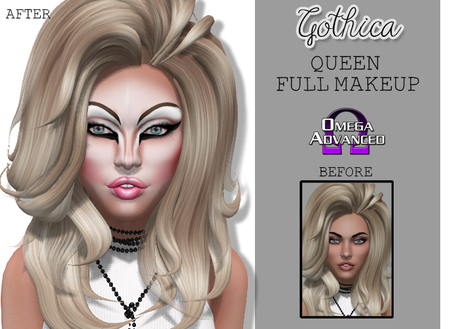 {Gothica} Queen Makeup (Dollarbie)