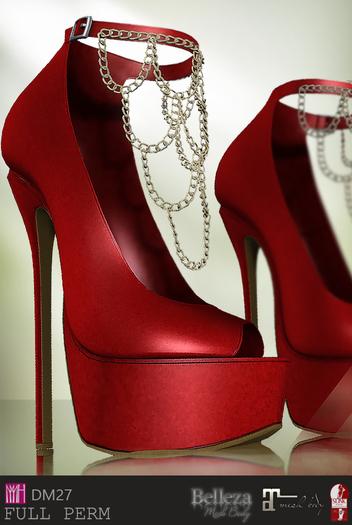 PROMO [DM] Full Perm  27 chains high heel
