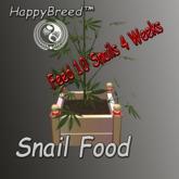 *HappySnail* - CannabisPlant - 10 Snails 4 Weeks