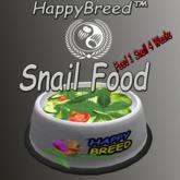 SnailFood - 1 Snail 4 Week