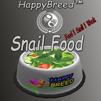 SnailFood - 1 Snail 1 Week