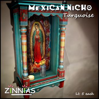 Zinnias Turquoise Maria Nicho