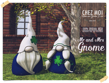 Mr and Mrs Gnome ♥ CHEZ MOI