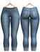 Blueberry - Lila Jeans - Blue