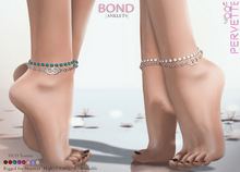 *PerveTTe* Bond [Anklets] [Gold]