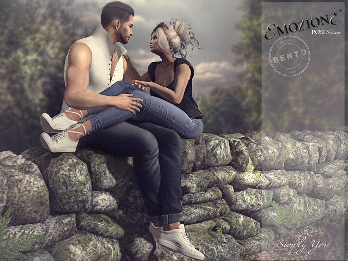 <EMOZIONE> Couple Pose **Simply You**!  BENTO GIFT POSE