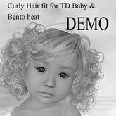 !!! AFA Hair TD Bento Hair Curly DEMO (BOX)