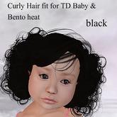 !!! AFA Hair TD Bento Hair Curly black (BOX)