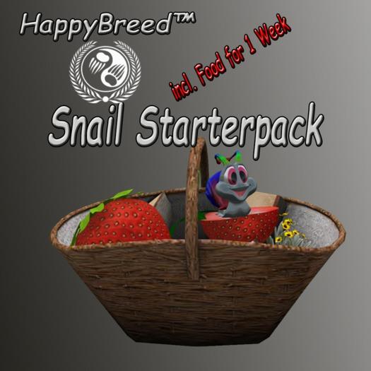 *HappySnail* - StarterPack