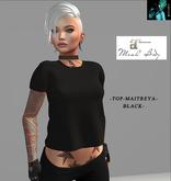 TOP-Maitreya -BLACK-