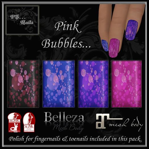 Pink Bubbles Polish