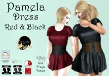 Continuum Pamela Red and Black