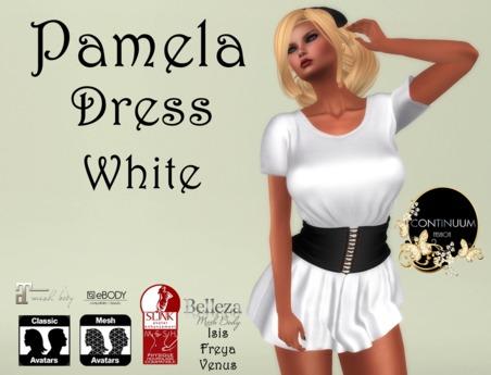 Continuum Pamela white