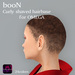 *booN Curly shaved hairbase for OMEGA