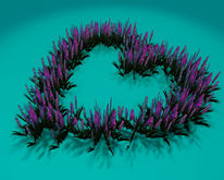 "1 prim full perm ""Valentine/Heart Shape Plants"" sculpt map, any plant texture"