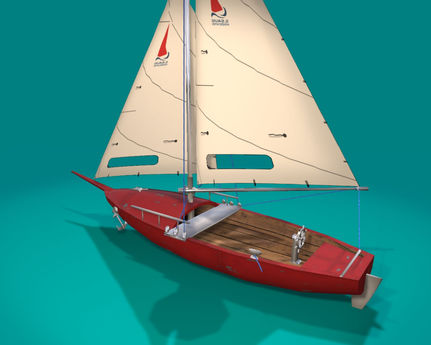 17 prim sloop 'Linden's Nekka', public version (copy)