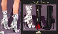 **Dirty Princess** Money Maker Princess Boots W/Hud