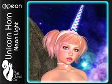 >^OeC^< Neon - Unicorn Horn