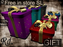 *Gift box or Sale of objects *Full Perm
