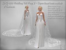 LDG-107 Wedding Veil Prop 2 - Open