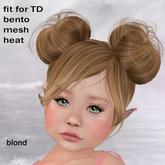!!! AFA Hair TD Bento Hair Anna blond (BOX)