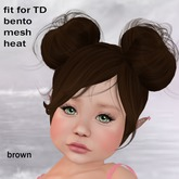 !!! AFA Hair TD Bento Hair Anna brown (BOX)